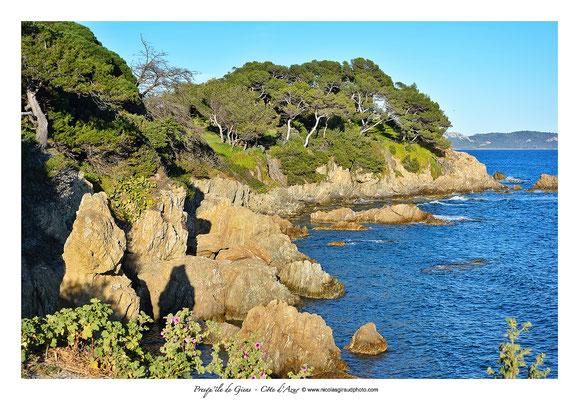 Sentier du littoral - Presqu'île de Giens - Côte d'Azur © Nicolas GIRAUD