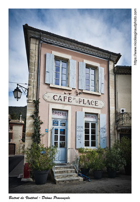 Le Bistrot de Ventérol - Drôme © Nicolas GIRAUD