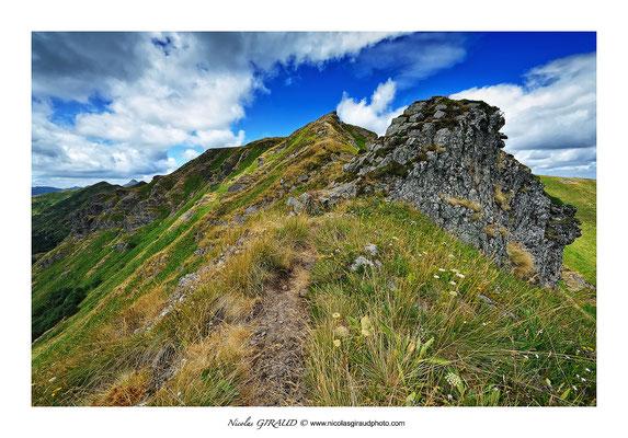 Bec de l'Aigle - Monts du Cantal © Nicolas GIRAUD