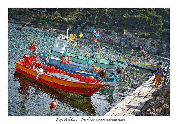 Port du Niel - Presqu'île de Giens - Côte d'Azur © Nicolas GIRAUD
