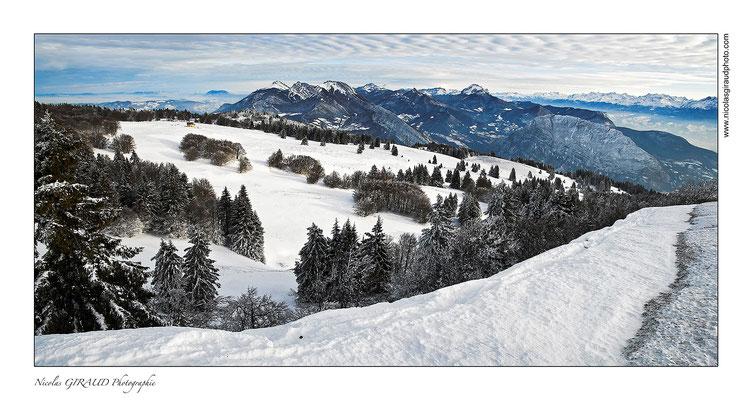 P.N.R. Massif de la Chartreuse (depuis plateau de Sornin - Vercors)