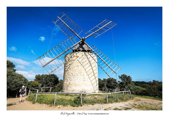 Moulin du Bonheur - Porquerolles © Nicolas GIRAUD