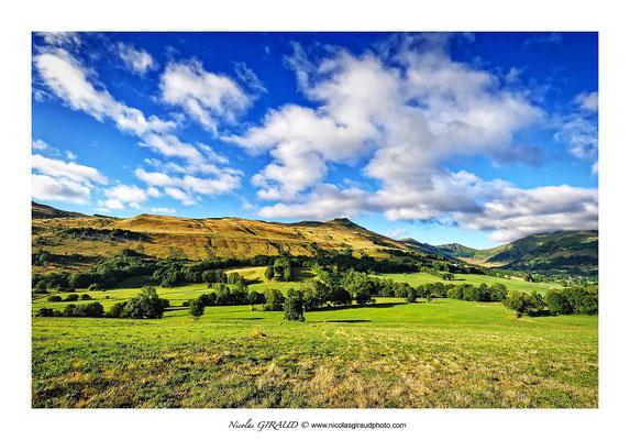 Vallée de l'Impradine - Monts du Cantal © Nicolas GIRAUD