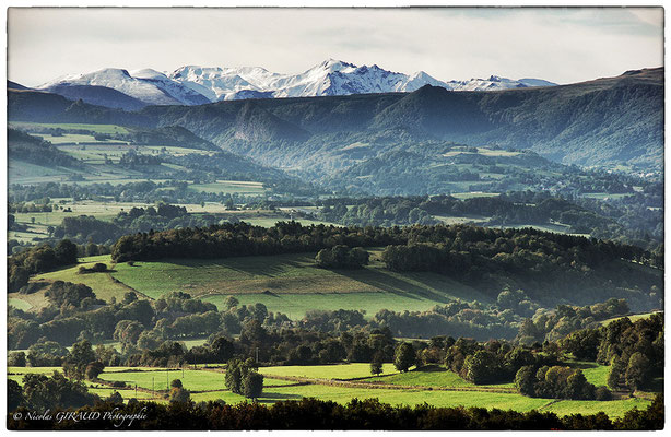 Massif Central - P.N.R. des Monts d'Auvergne © Nicolas GIRAUD