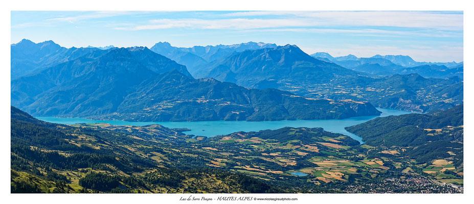 Lac de Serre Ponçon - Gapençais © Nicolas GIRAUD