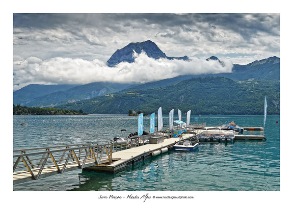 Lac de Serre Ponçon - Hautes Alpes © Nicolas GIRAUD