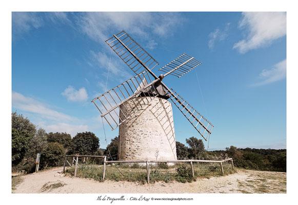 Moulin de Porquerolles © Nicolas GIRAUD
