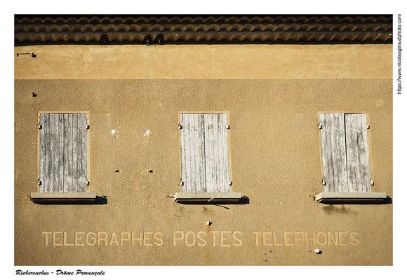Richerenches - Drôme  © Nicolas GIRAUD