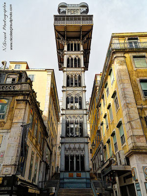 Elevador de Santa Justa - Lisbonne © Nicolas GIRAUD