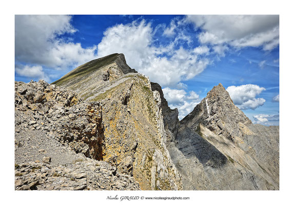Montagne de Garnesier - Dévoluy © Nicolas GIRAUD
