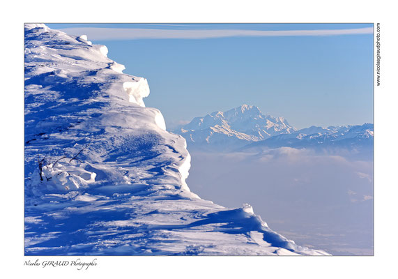 Grandes Roches St Michel & Mont Blanc - P.N.R. du Vercors © Nicolas GIRAUD