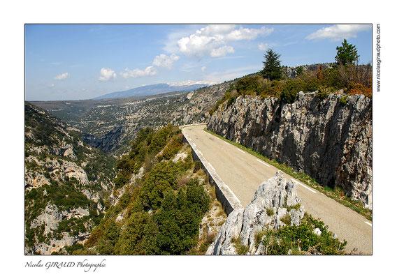 Gorges de la Nesque - Provence © Nicolas GIRAUD