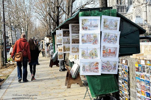 Paris Bouquiniste Seine © Nicolas GIRAUD