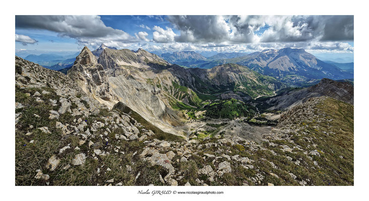 Vallée de l'Abéou - Dévoluy © Nicolas GIRAUD