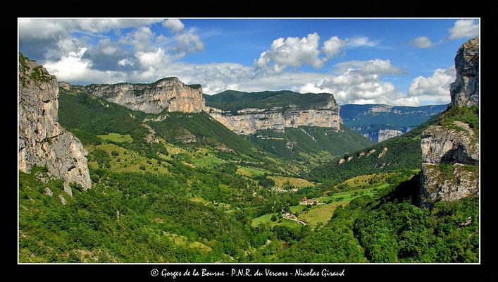 Gorges de la Bourne - P.N.R. du Vercors © Nicolas GIRAUD