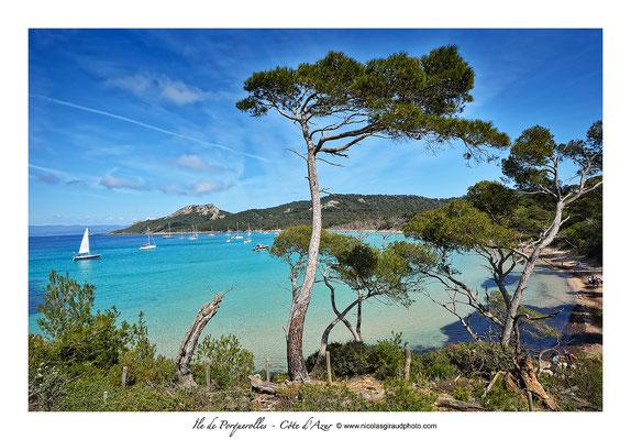 Plage Notre Dame - île de Porquerolles - Côte d'Azur © Nicolas GIRAUD