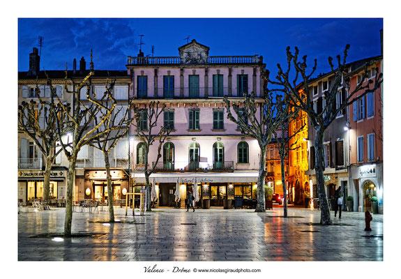 Place des Clercs - Valence - Drôme © Nicolas GIRAUD
