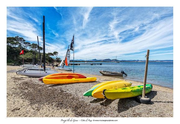 Plage de la Badine - Presqu'île de Giens © Nicolas GIRAUD