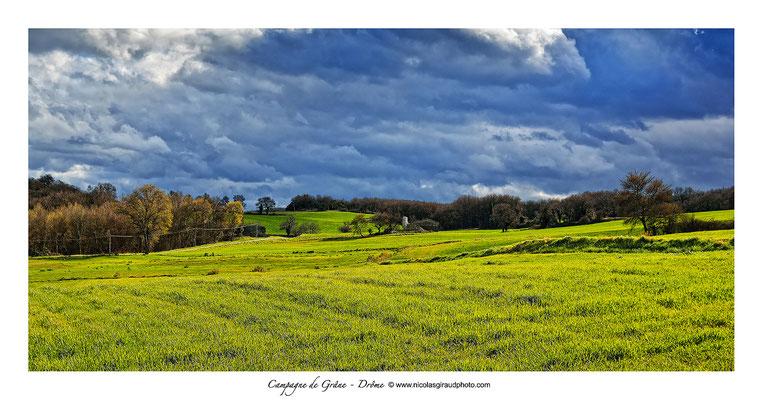 Grâne - Vallée de la Drôme © Nicolas GIRAUD