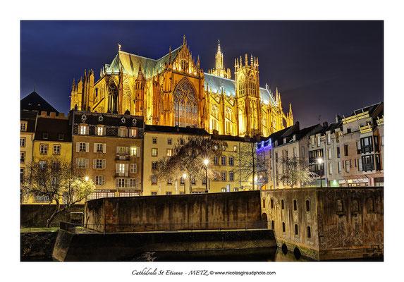 Cathédrale St Etienne - Metz © Nicolas GIRAUD