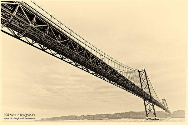 Pont du 25 avril - Lisbonne © Nicolas GIRAUD