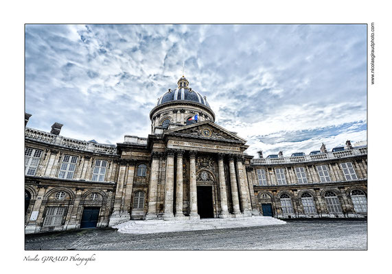 Paris Institut de France © Nicolas GIRAUD