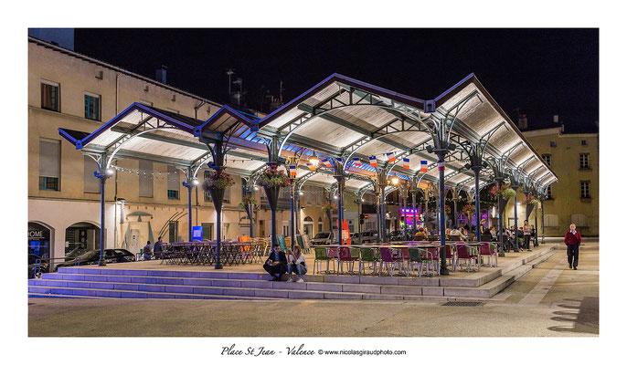 Place St Jean - Valence - Drôme © Nicolas GIRAUD