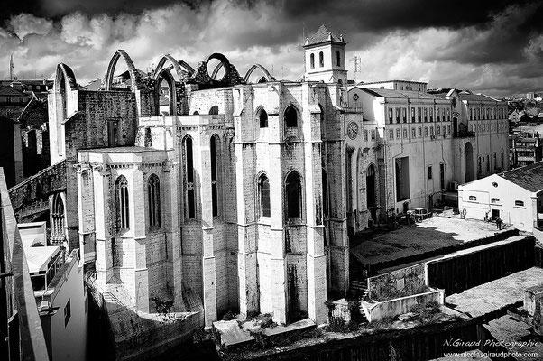 Eglise de Carmo - Lisbonne © Nicolas GIRAUD