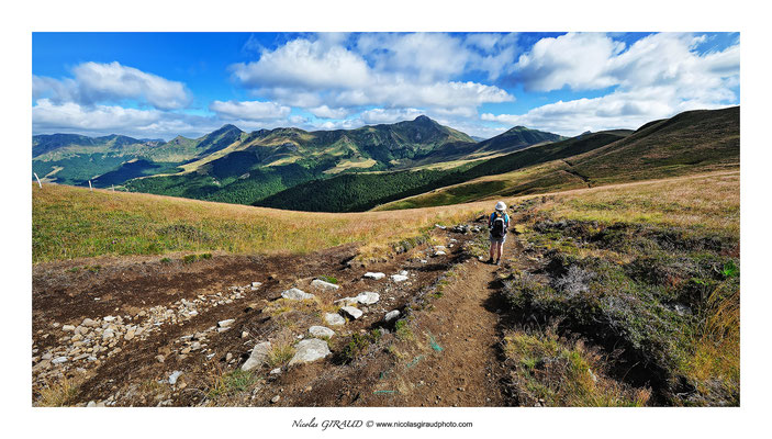GR400 - Monts du Cantal © Nicolas GIRAUD