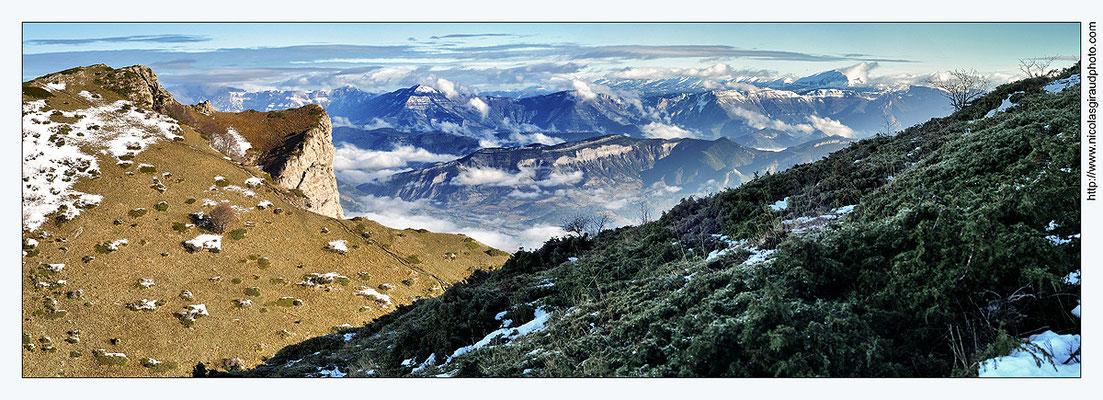 Panorama du Veyou - Drôme © Nicolas GIRAUD