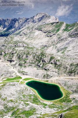 Lac de Moucherolle - Vercors © Nicolas GIRAUD