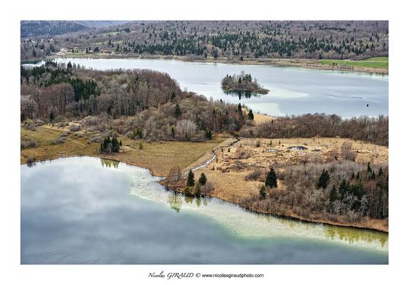 Lacs du Grand Maclus & d'Ilay - Jura © Nicolas GIRAUD