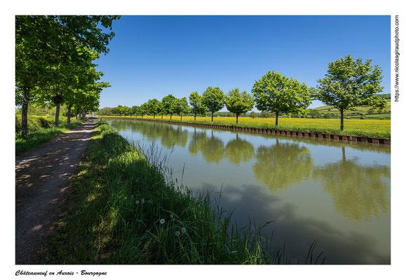 Canal de Bourgogne - Côte d'Or © Nicolas GIRAUD