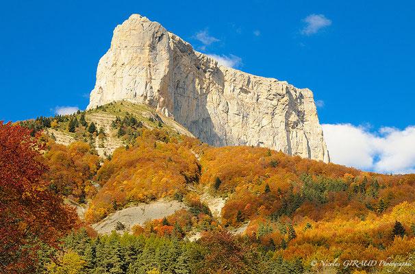Mont Aiguille - Trièves - P.N.R. du Vercors © Nicolas GIRAUD