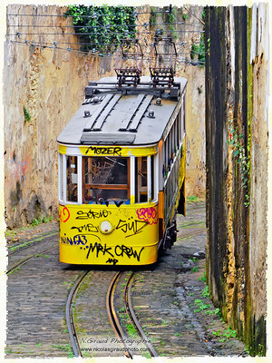Ascensor do Lavra - Lisbonne © Nicolas GIRAUD