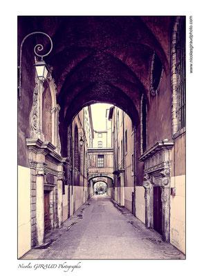 Passage du collège © Nicolas GIRAUD