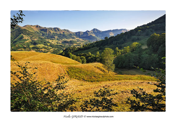 Vallée de la Jordanne - Monts du Cantal © Nicolas GIRAUD