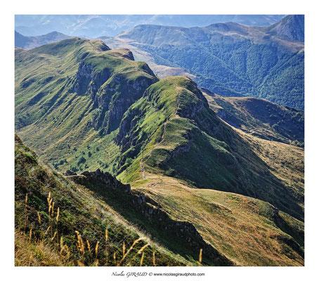 Brèche de Rolland - Monts du Cantal © Nicolas GIRAUD