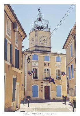 Caderousse - Vaucluse en Provence © Nicolas GIRAUD