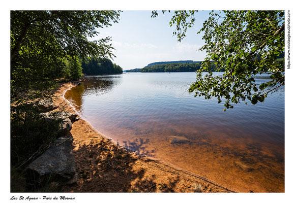 Lac St Agnan - Parc du Morvan © Nicolas GIRAUD