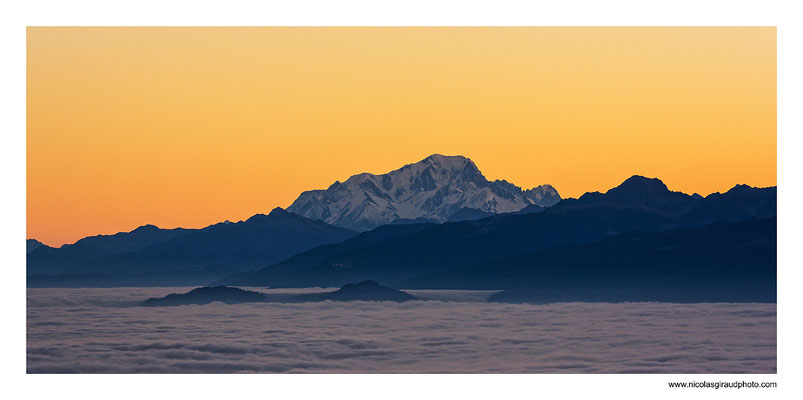 Mont Blanc  © Nicolas GIRAUD