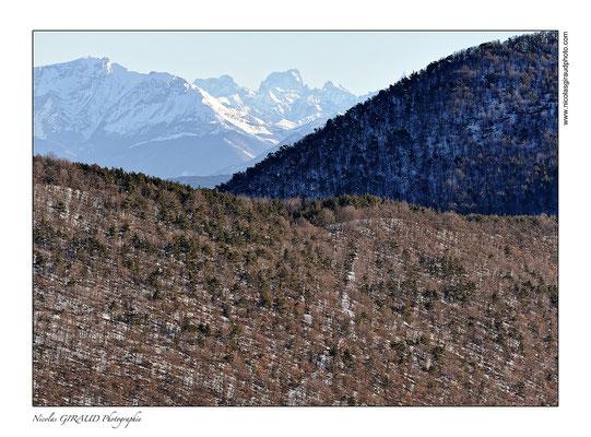 Depuis la montagne de l'Arsuc - Baronnies Provençales © Nicolas GIRAUD