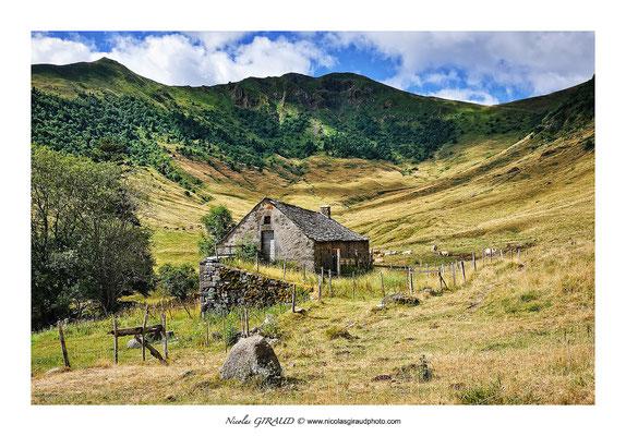Vallée de la Santoire - Monts du Cantal © Nicolas GIRAUD