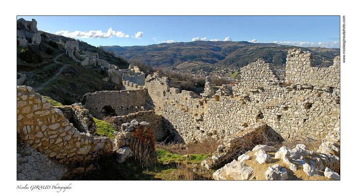 Forteresse de Crussol - Vallée du Rhône