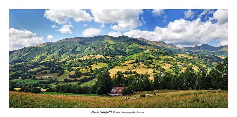 Vallée de la Jordanne et Cabrespine - Monts du Cantal © Nicolas GIRAUD