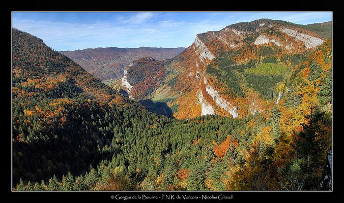 Gorges Omblèze - P.N.R. du Vercors © Nicolas GIRAUD