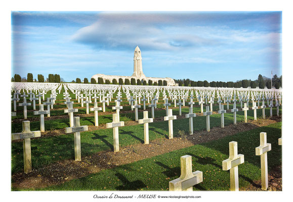 Ossuaire de DOuaumont - Lorraine © Nicolas GIRAUD