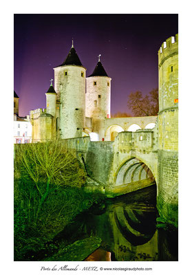 Porte des Allemands - Metz © Nicolas GIRAUD