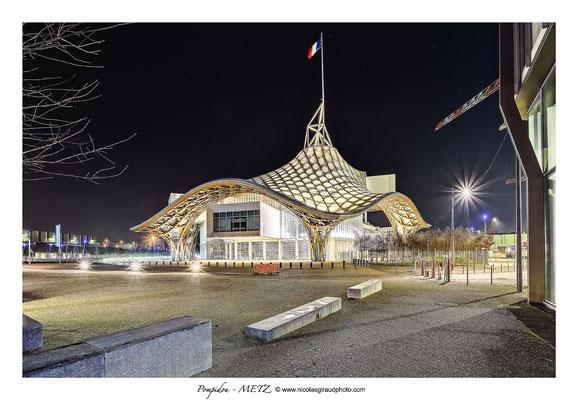 Musée Pompidou - Metz © Nicolas GIRAUD