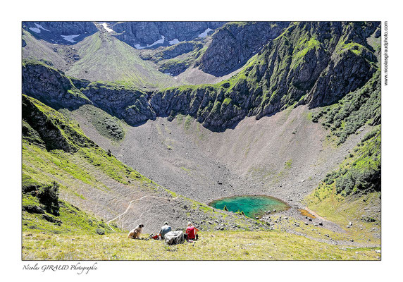 Lac de la Grande Sitre - Belledonne © Nicolas GIRAUD